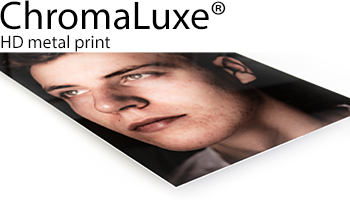 ChromaLuxe HD metal print